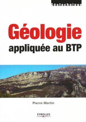 Géologie appliquée au BTP-eyrolles-9782212127706