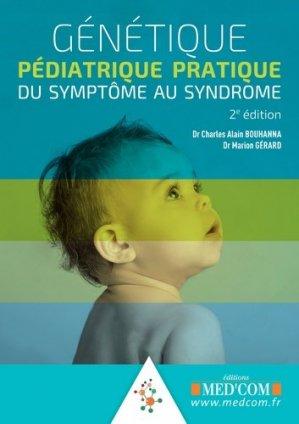 Génétique pédiatrique pratique-med'com-9782354032593