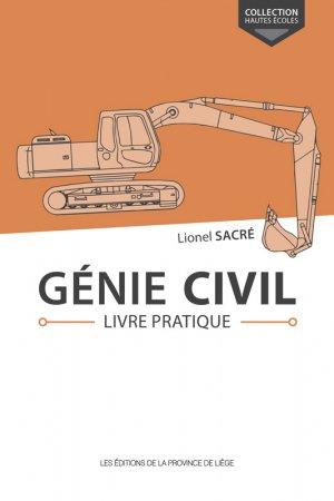 Génie civil Livre pratique-de la province de liege-9782390100911