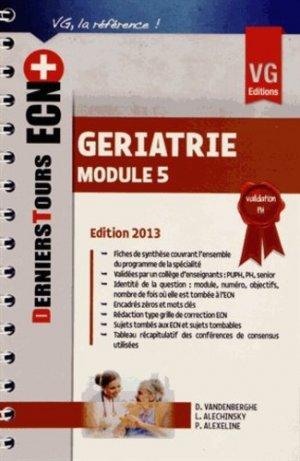 Gériatrie - vernazobres grego - 9782818308097