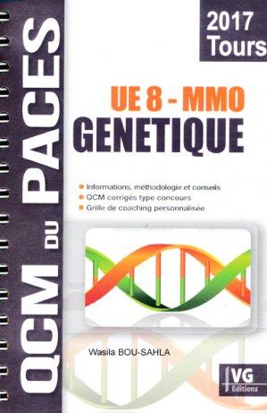 Génétique MMO Tours UE8 - vernazobres grego - 9782818316115