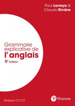 Grammaire explicative de l'anglais - pearson - 9782326002241