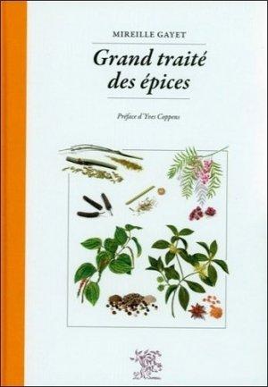 Grand traité des épices-le sureau-9782911328640