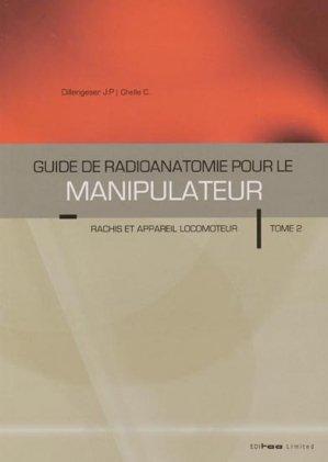 Guide de radioanatomie pour le manipulateur Tome 2-editoo-9780982001677