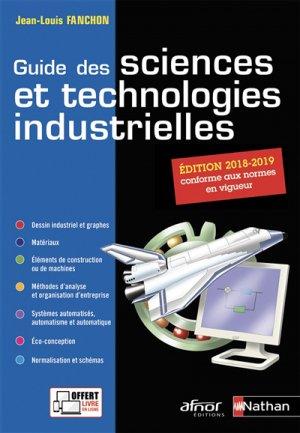 Guide des sciences et technologies industrielles-nathan / afnor-9782091650289
