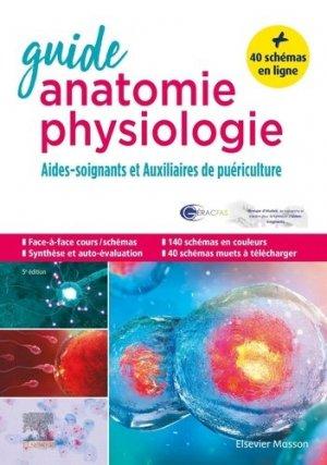 Guide anatomie et physiologie pour les AS et AP-elsevier / masson-9782294766541