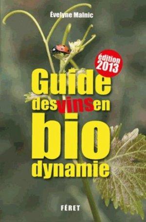 Guide des vins en biodynamie - feret - 9782351561164