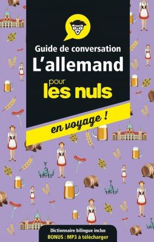 Guide de Conversation Allemand pour les Nuls - first - 9782412041734