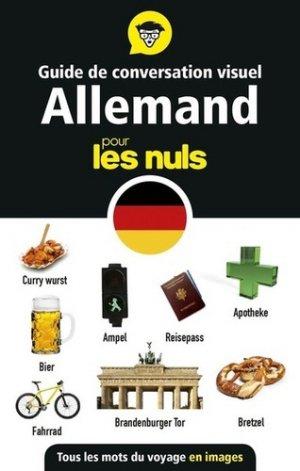 Guide de conversation visuel allemand pour les nuls - first - 9782412044728