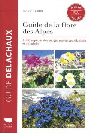 Guide de la flore des Alpes-Delachaux et Niestlé-9782603026113