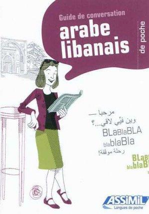 Guide de Conversation Arabe Libanais de Poche-assimil-9782700503579
