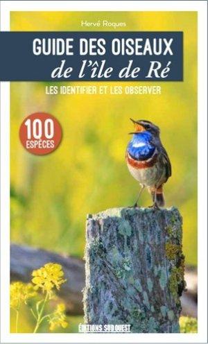 Guide des oiseaux de l'île de Ré-sud ouest-9782817706474