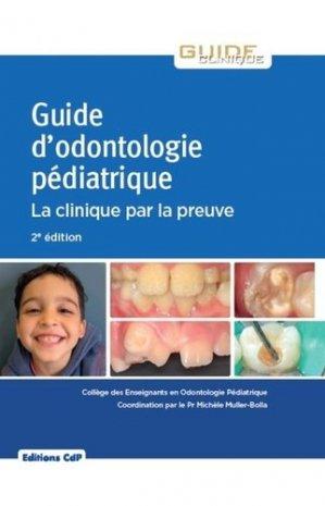 Guide d'odontologie pédiatrique-cdp-9782843614101