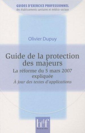 Guide de la protection des majeurs - heures de france - 9782853853118