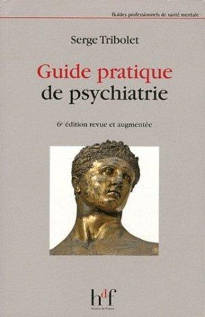 Guide pratique de psychiatrie - heures de france - 9782853853132