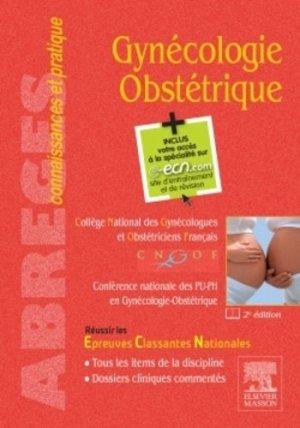Gynécologie Obstétrique-elsevier / masson-9782294743191
