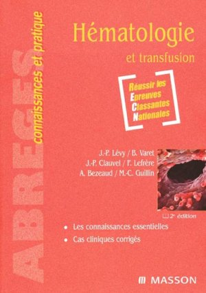 Hématologie et transfusion-elsevier / masson-9782294021350