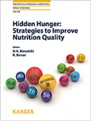 Hidden Hunger: Strategies to Improve Nutrition Quality-karger -9783318062526