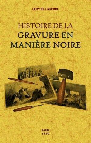Histoire de la gravure en manière noire-maxtor france-9791020802088