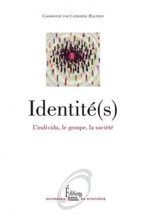 Identité(s) - sciences humaines - 9782361063283