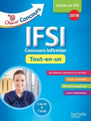 IFSI 2018 - Tout En Un-hachette-9782017013563