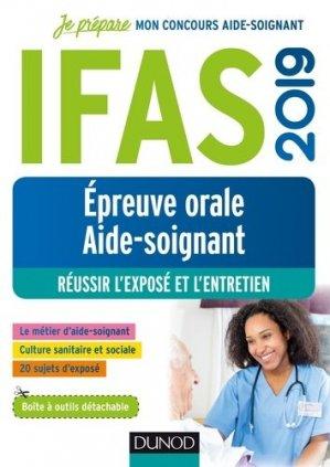 IFAS 2019 - Epreuve orale concours aide-soignant-dunod-9782100789207