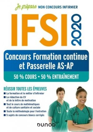 IFSI 2020 Concours formation continue et passerelle-dunod-9782100800926