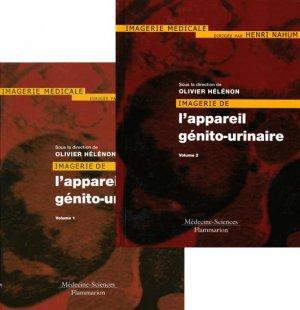 Imagerie de l'appareil génito-urinaire Tome 1 et 2-lavoisier msp-9782257120038