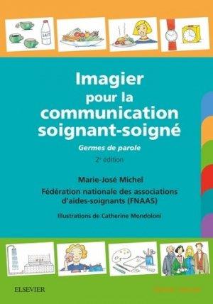 Imagier pour la communication soignant-soigné-elsevier / masson-9782294756153