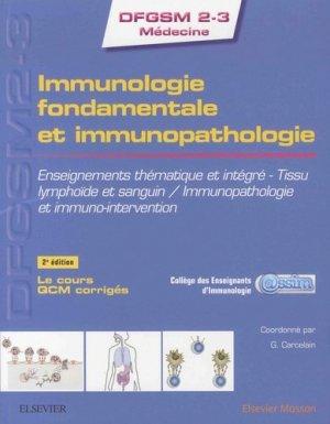 Immunologie fondamentale et immunopathologie-elsevier / masson-9782294756580