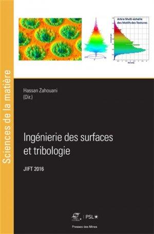 Ingénierie des surfaces et tribologie-presses des mines-9782356715265