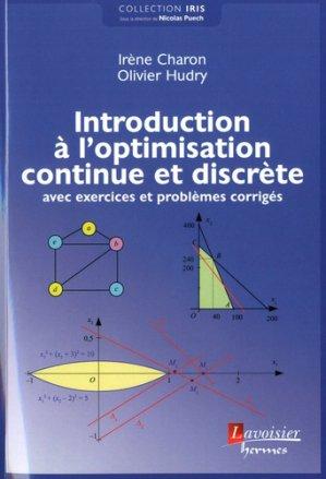 Introduction à l'optimisation continue et discrète-hermes-9782746248632