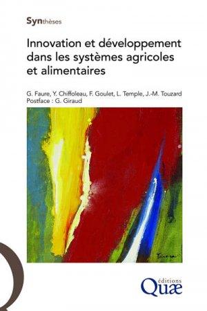 Innovation et développement dans les systèmes agricoles et alimentaires - quae - 9782759228126