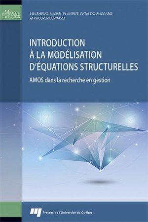 Introduction à la modélisation d'équations structurelles - presses de l'universite du quebec - 9782760547384