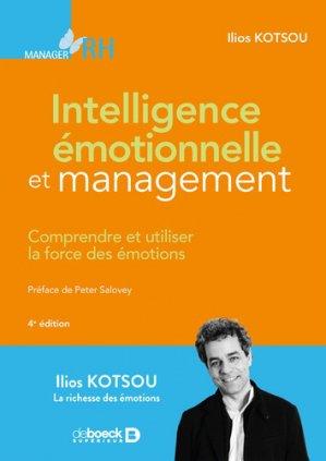Intelligence émotionnelle et management-de boeck-9782807321144