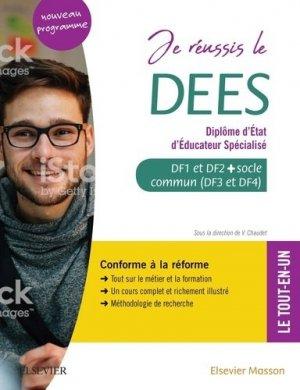 Je réussis le DEES. Diplôme d'État d'éducateur spécialisé - elsevier / masson - 9782294765902