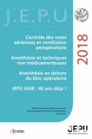 JEPU infirmiers 2018 - arnette - 9782718414850