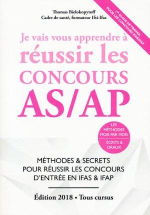 Je Vais Vous Apprendre à Réussir les Concours AS/AP-du 46-9791092452389