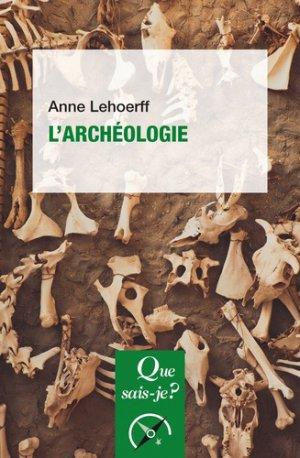 L'archéologie-PUF-9782130804277