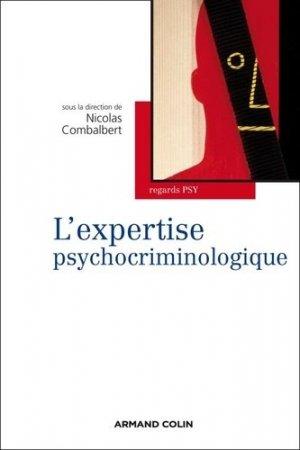 L'expertise psychocriminologique-armand colin-9782200249786