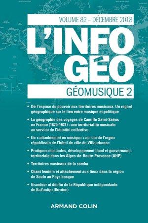 L'Information géographique (4/2018)-armand colin-9782200931988
