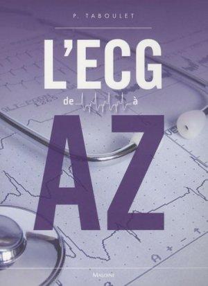L'ECG de A à Z-maloine-9782224031015