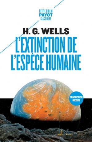 L'extinction de l'espèce humaine-payot-9782228922210