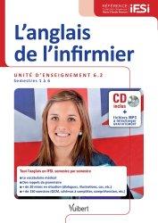 L'anglais de l'infirmier UE 6.2-vuibert-9782311200904