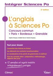 L'anglais à Sciences Po-vuibert-9782311405651