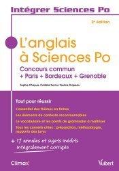L'anglais à Sciences Po-vuibert-9782311405651