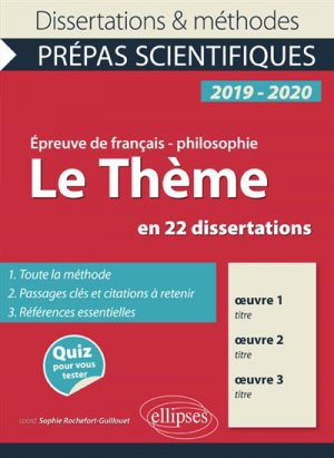 L'Amour en 23 Dissertations - Epreuve de Français / - Philosophie Prépas Scientifiques 2019-2020-ellipses-9782340024267