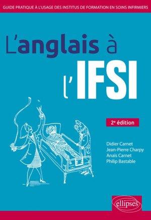 L'anglais à l'IFSI-ellipses-9782340026377