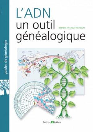 L'ADN, un outil généalogique-archives et culture-9782350773476