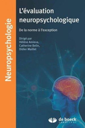 L'évaluation neuropsychologique-de boeck superieur-9782353273522
